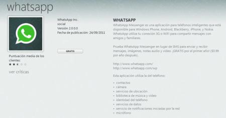 WhatsApp llega a su versión 2.0 en Windows Phone