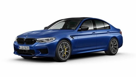 Bmw M5 With The Competition Package 7