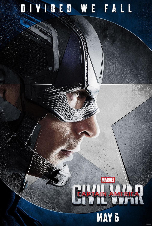 'Capitán América: Civil War', nuevos carteles de los protagonistas