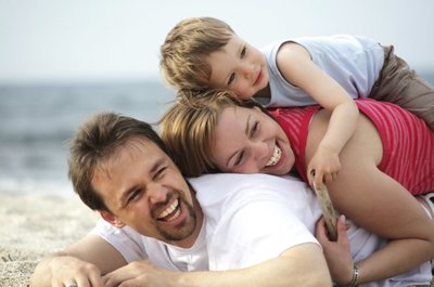 Si no eres cariñoso, ¿cómo va a saber tu hijo que lo quieres?