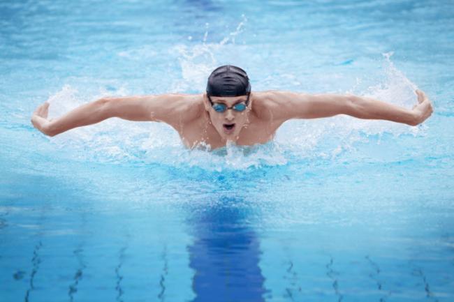 La temperatura ideal del agua para nadar