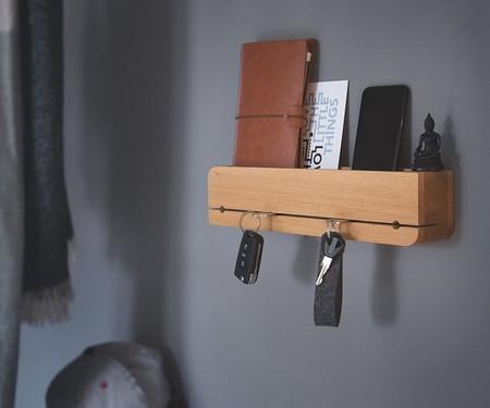 Bandeja para documentos y llaves