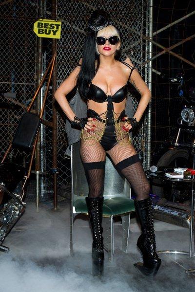 Lady Gaga lencería
