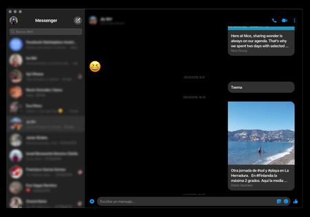 Facebook Messenger para macOS