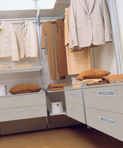 vestidor barras colgar