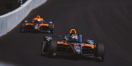 Fernando Alonso acaba 23º el 'Carb Day' pero su compañero en McLaren, Patricio O'Ward, es el más rápido