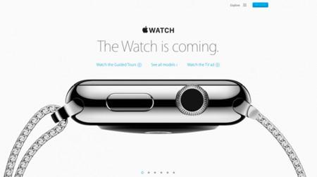 La web del Apple Watch se actualiza con nuevos vídeos y la eliminación de su fecha de lanzamiento