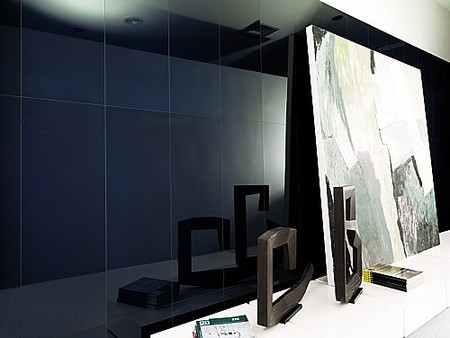 Crystal de Porcelanosa, paredes de espejo