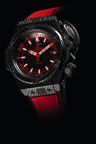 Ikepod y Hublot Only Watch 2011: dos relojes en rojo únicos en el mundo