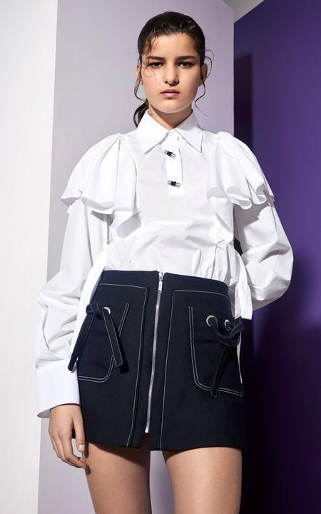 Clonados y pillados: la blusa con volantes de Kenzo en el punto de mira de Zara