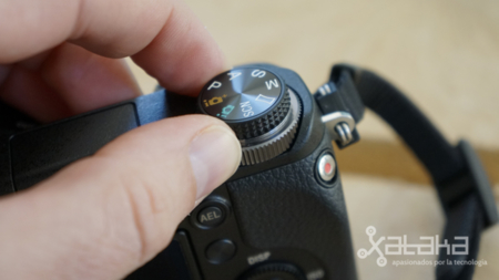 Sony NEX 6 análisis doble dial