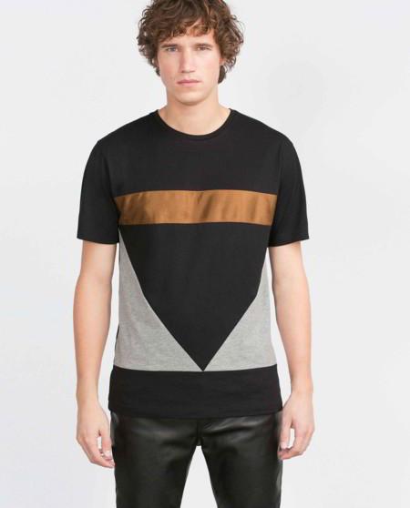 Una camiseta en color-block