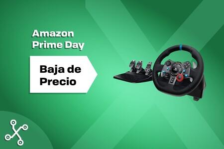 Este volante de Logitech es de los más vendidos de Amazon y ahora está en oferta por el Prime Day: la versión para PlayStation cuesta sólo 188,99 euros