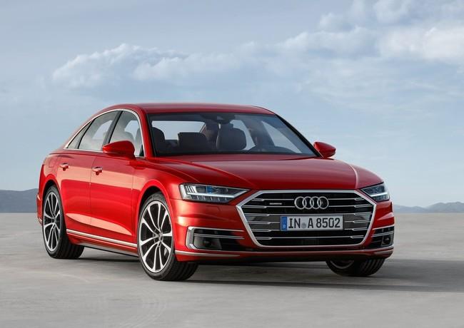 El nuevo Audi A8 es el lujo más 'hi-tech' del momento