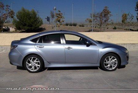 Mazda6 2.2 CRTD y 2.5 5p, prueba (conducción y dinámica)