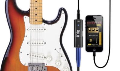 iRig HD, nueva versión del adaptador para guitarra y otros instrumentos