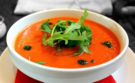 Gazpacho de pepino. Receta fácil para los meses de calor