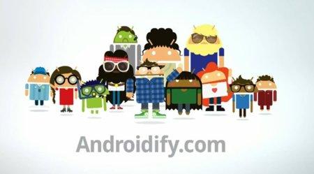 Google quiere convertirte en robot Android con Androidify