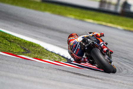 Marc Marquez Day 2 Sepang Test 2