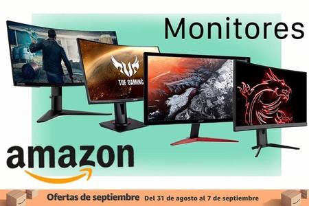 Más monitores rebajados en las ofertas de septiembre de Amazon: 10 modelos de MSI y BenQ a los mejores precios
