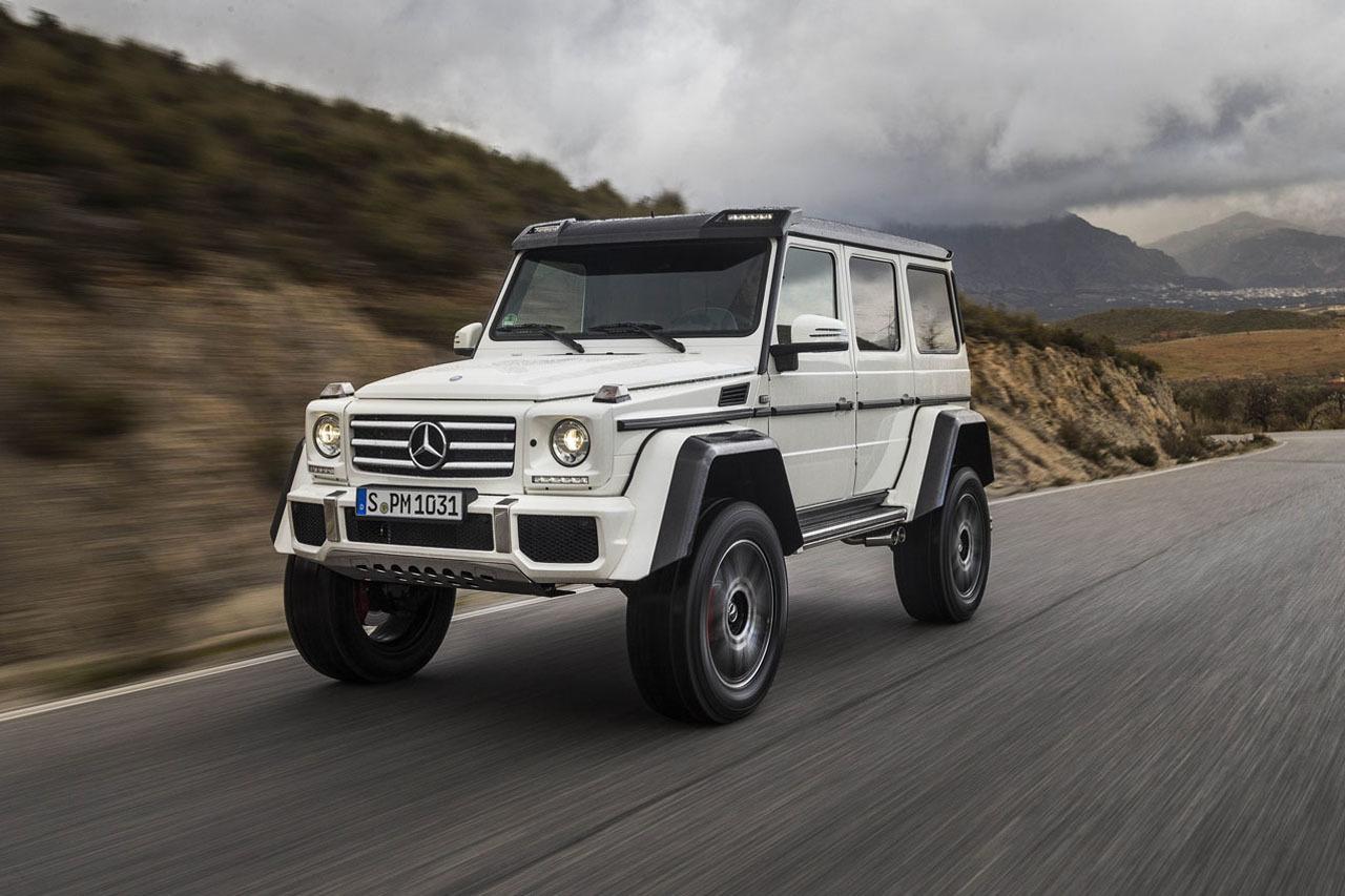 Foto de Mercedes-Benz G 500 4x4², toma de contacto (77/127)
