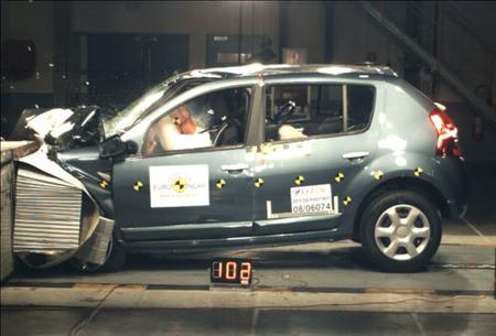 Dacia Sandero - EuroNCAP
