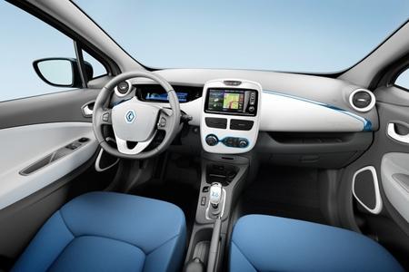 Renault ZOE interior versión Life