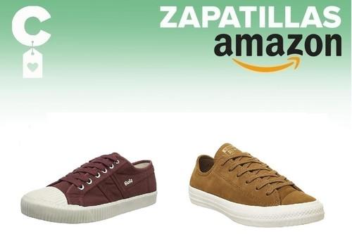 11 chollos en tallas sueltas de zapatillas veraniegas Converse, Gola, Etnies o Superga en Amazon por menos de 30 euros