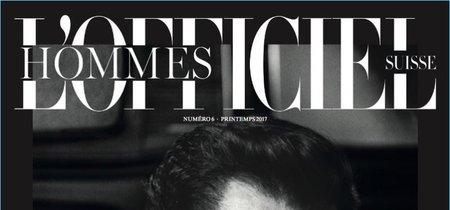 David Gandy en portada de la edición suiza de L'Officiel Hommes