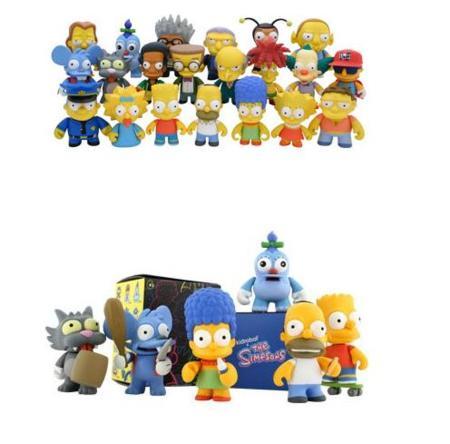 Toys Kidrobot de Los Simpsons