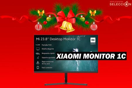 El nuevo monitor de Xiaomi de diseño moderno y soporte ajustable está de oferta de lanzamiento a menos de 100 euros en Amazon