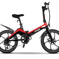 La Ducati MG-20 es la primera bicicleta eléctrica plegable de Borgo Panigale con mucho magnesio y 50 km de autonomía