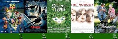 Top Blogdecine | Woody Allen llega sin demasiada fuerza al Top