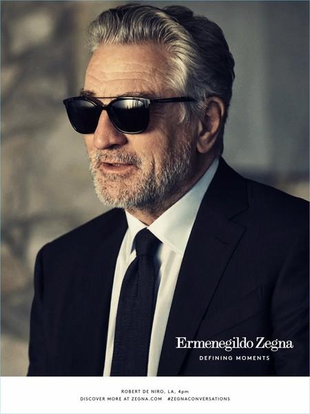 Defining Moments: la nueva campaña de Ermenegildo Zegna protagonizada por Robert De Niro