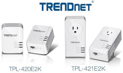 Los nuevos adaptadores PLC de TRENDnet prometen conectarse a 1.200 Mbps