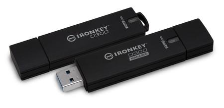 Kingston lanza unidades USB encriptadas IronKey a prueba de agua