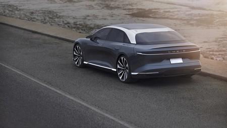Mejor que Tesla y el Porsche Taycan: el Lucid Air promete recargar 483 km de autonomía en 20 minutos