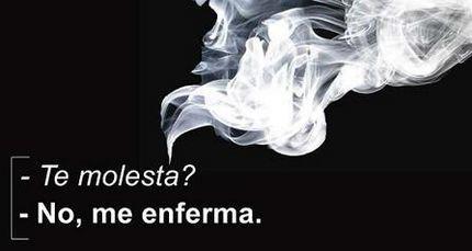 El humo del tabaco es más tóxico cuando comemos