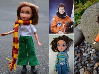 Estas muñecas representan a mujeres famosas para inspirar a los niños a llegar más allá