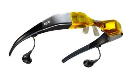 Myvu Crystal, gafas para ver video, ahora compatibles con el iPhone