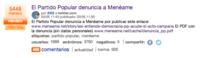 La Junta Electoral da la razón a Menéame pero les manda retirar el enlace