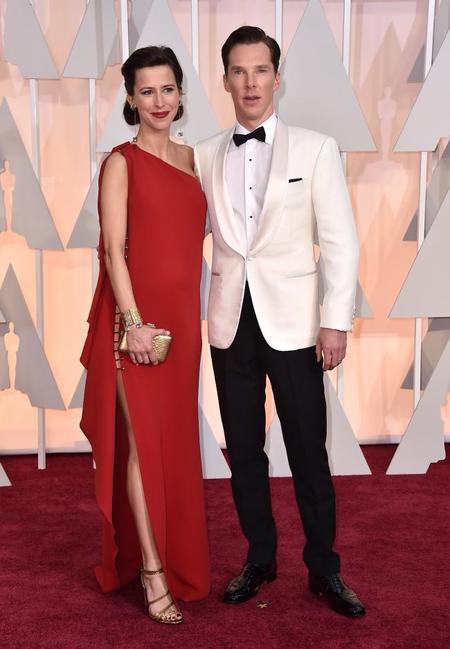 Benedict Cumberbatch y señora, divinos no, lo siguiente