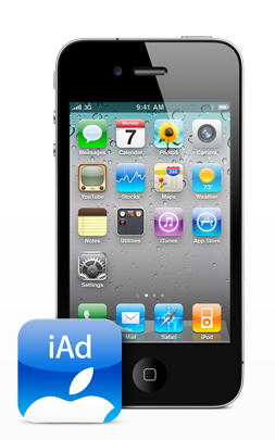 iAd en el iPhone 4