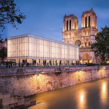 Mientras duren las obras de Notre Dame se levantará un pabellón para celebrar misas, mercadillos o exposiciones