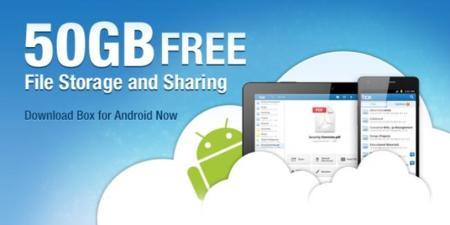Box se actualiza con 50GB de almacenamiento gratis para todos