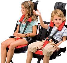 Por fin la primera silla de seguridad  infantil para los autobuses