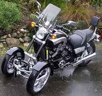 Yamaha VMAX versión trike: ¡Engendro!