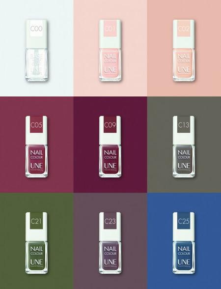 Las Nail Colour de UNE, cosmética natural