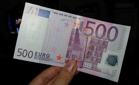 Circularon un 7,9% menos de billetes de 500 euros en 2012