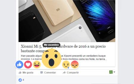 """Facebook finalmente habilita las alternativas al """"Me gusta"""" en México"""